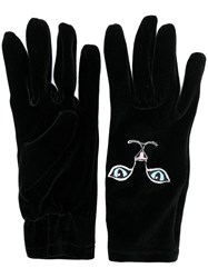 Vivetta Cat Gloves Black
