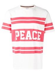 Paul Smith Peace T Shirt White