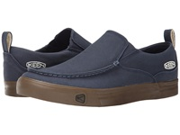 Keen Timmons Slip On Canvas Midnight Navy Men's Slip On Shoes Blue