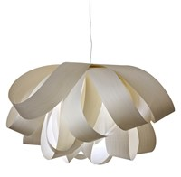 Lzf Agatha Suspension Lamp Large E26 Base Blue Brown Cream Green