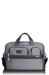 Tumi Alpha 2 T Pass Tm Briefcase Grey Pewter