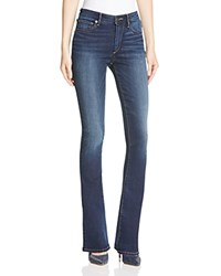 True Religion Jennie Curvy Bootcut Jeans In Dark Wash