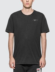 Off White Abstract Arrows Slim T Shirt Black