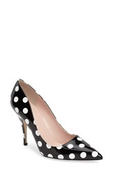 Kate Spade Women's New York 'Licorice Too' Pump Black White