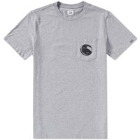 C.P. Company Pocket Lens Tee Grey