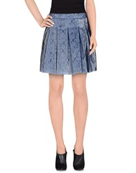 Jijil Skirts Mini Skirts Women Grey