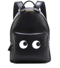 Anya Hindmarch Eyes Right Mini Leather Backpack Black