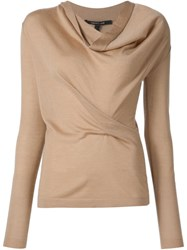 Derek Lam Cowl Neck Jumper Brown