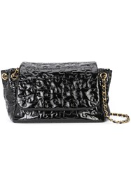 Chanel Vintage 'Puzzle' Accordion Flap Bag Black
