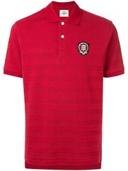 Kent And Curwen Classic Polo Shirt Pink