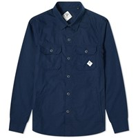 Barbour Beacon Ripstop Overshirt Blue