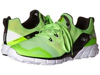 Reebok Zpump Fusion 2.0 Solar Green Seafoam Green Solar Yellow Black White Men's Running Shoes