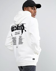 10.Deep 10 Deep Hoodie With Tour Back Print White