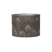 Liberty London Heritage Hera Ceiling Lampshade Slate Blue