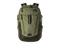 The North Face Surge Terrarium Green Heather Rosin Green Backpack Bags