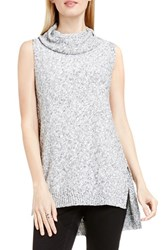 Vince Camuto Women's Two By Sleeveless Marled Cowl Neck Sweater