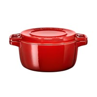 Kitchenaid 24Cm Round Casserole Dish Empire Red