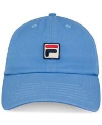 Fila Heritage Cotton Baseball Cap Lake Blue