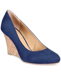 Rialto Celina Wedge Pumps Women's Shoes Midnight