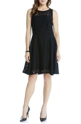 Karen Kane Women's Lace Fit And Flare Dress