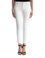 Liverpool Jeans Penny Solid Mid Rise Bright White