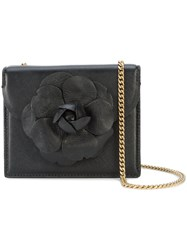 Oscar De La Renta Tro Mini Crossbody Bag Black