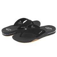 Reef Fanning Black Silver Men's Sandals