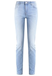 Wrangler Slim Fit Jeans Summer Feeling Stone Blue Denim