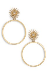 Vince Camuto Sun Hoop Gold