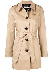 Coach Short Trench Coat Neutrals