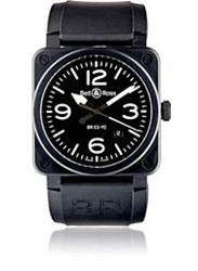 Bell And Ross Br 03 92 Black Matte Watch Black