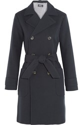 A.P.C. Cotton And Wool Blend Trench Coat