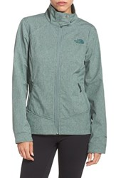 The North Face Women's 'Calentito 2' Soft Shell Jacket Balsam Green Heather