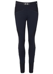 High Hi Lay Out Navy Jersey Trousers