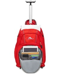 High Sierra Freewheel 20.5 Laptop Backpack Red