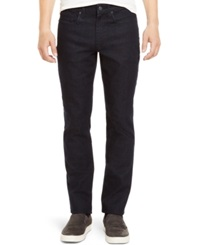 Kenneth Cole Reaction Straight Leg Dark Wash Jeans
