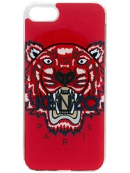 Kenzo Tiger Print Iphone 8 Case Red