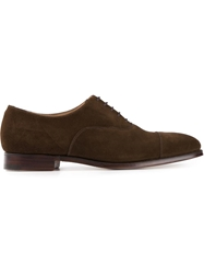 Crockett Jones Crockett And Jones Classic Oxford Shoe Brown