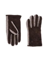 Gant Gloves Dark Brown