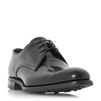 Loake 807 Round Toe Gibson Shoes Black