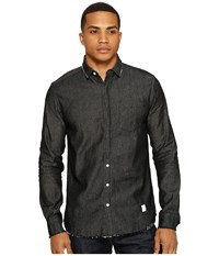 Akomplice Temple Button Up Charcoal Men's Clothing Gray