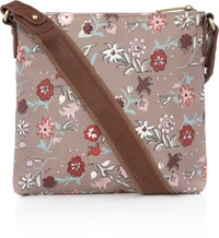 Ollie And Nic Tapestry Morris Multi Crossbody Multi Coloured Multi Coloured