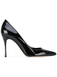 Sergio Rossi Pointed Pumps Women Leather Patent Leather 36 Black