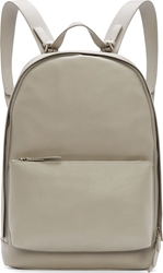 3.1 Phillip Lim Cement Grey Matte Leather Backpack