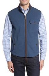 Thaddeus Men's Robert Full Zip Vest Denim