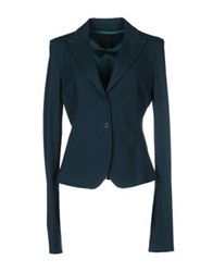 Pinko Black Blazers Green