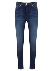 Mint Velvet Fairfield Skinny Jeans Blue