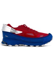 Adidas By Raf Simons 'Response Trail' Sneakers Red
