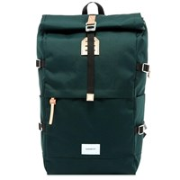 Sandqvist Bernt Cordura Rolltop Backpack Green