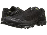 Salewa Ultra Train Gtx Black Swing Green Men's Shoes